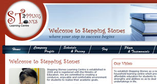 Stepping Stone Learning Centre Using savvy Reseller Hosting Program
